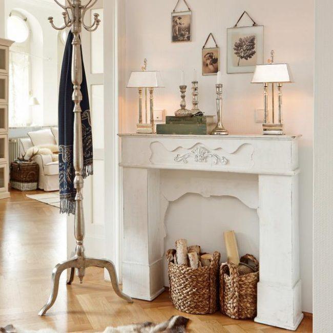 Фальш-камин - особенности декоративных каминов и 90+ невероятно стильных воплощений в интерьере