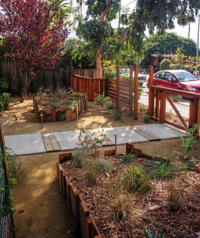 Ограждения для клумб и грядок: 70+ роскошных идей, которые преобразят ваш сад