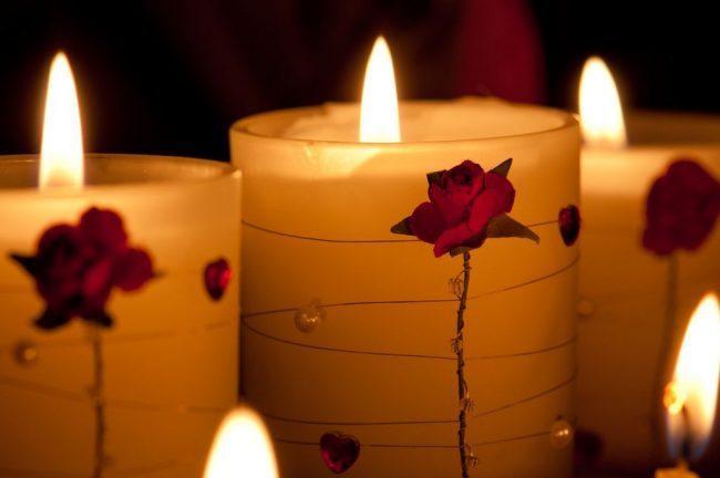Свечи для романтического вечера: 70 вдохновляющих идей, которые помогут вам удивить любимых