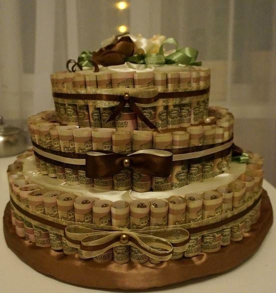 Картинки тортов из денег