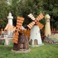 Декоративная мельница для сада своими руками: пошаговая инструкция, фото чертежей и мастер-классы