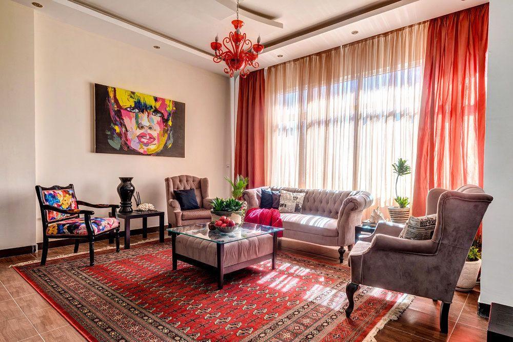 Жаккардовый ковер в интерьере: 65+ ярких и элегантных вариантов для гостиной и спальни