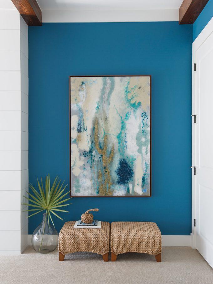 корм картинки на стену для интерьера в синем вам