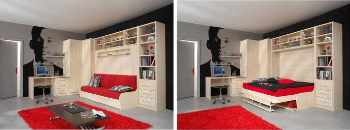Когда каждый метр на счету — шкаф-кровать с диваном: как выбрать идеальную кровать-трансформер для квартиры?