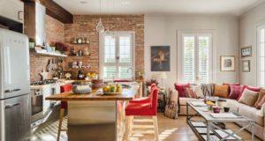 Кухня-гостиная площадью 12 кв. м: создаем продуманный интерьер от минимализма и хай-тека до классики и лофта