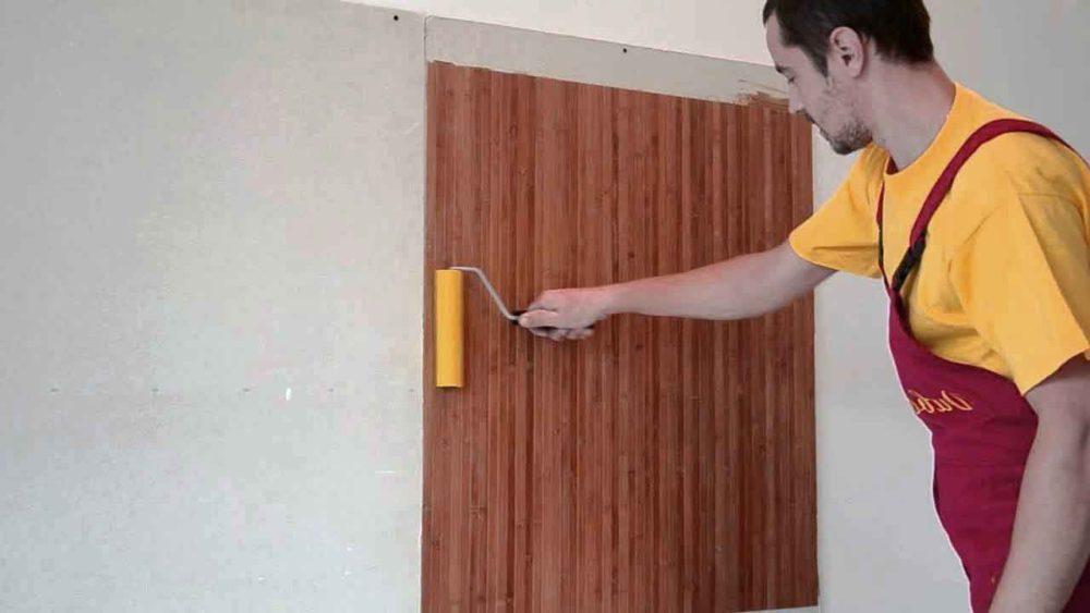 Бамбуковые обои в интерьере (38 фото): варианты использования, нюансы монтажа