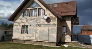 Вот что происходит если утеплить фасад брусового дома экструдированным пенополистиролом ЭППС