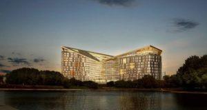 Представлен проект строительства штаб-квартиры «Яндекса» на Воробьевых горах