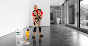 Чем и как обработать бетонный пол своими руками, чтобы не пылил