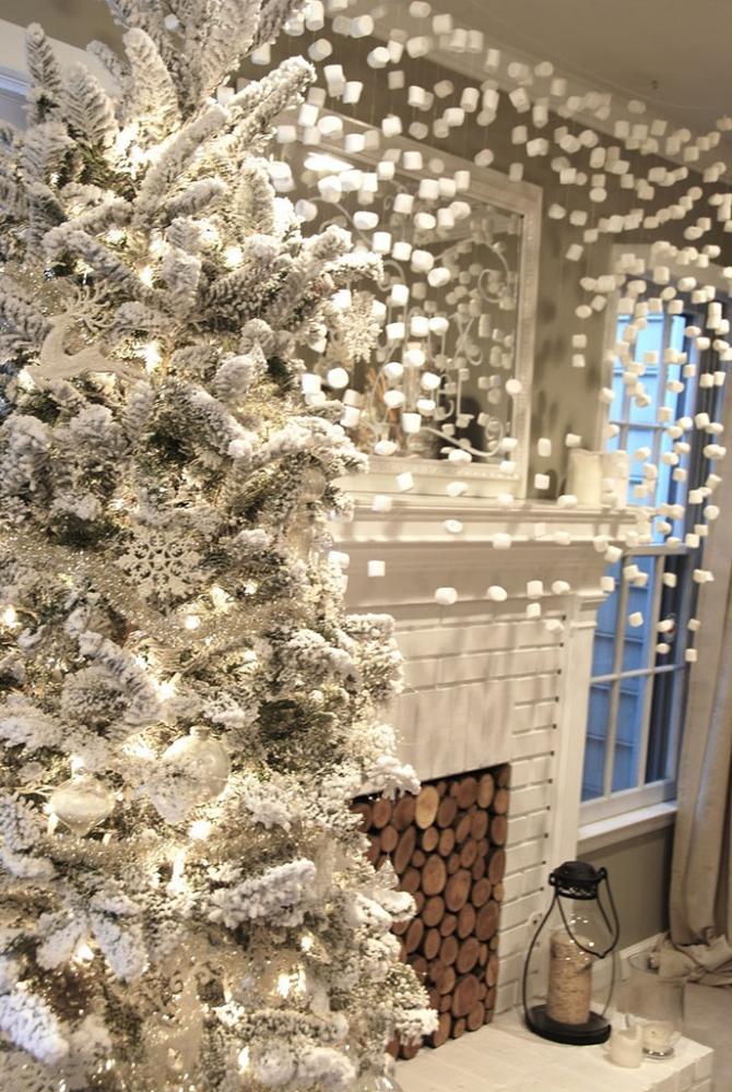 Как украсить комнату на Новый год 2021: 60+ невероятно уютных идей праздничного декора