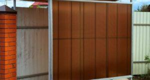 Крытая стоянка для велосипедов из панелей Novattro PROF: инструкция по монтажу