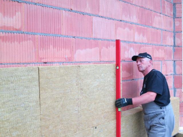 Технология утепления стен минватой снаружи под штукатурку