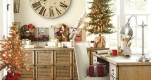 Как украсить кабинет к Новому году 2021: создаем стильное праздничное рабочее место