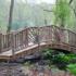 Декоративный мостик для сада: как сделать своими руками, фото