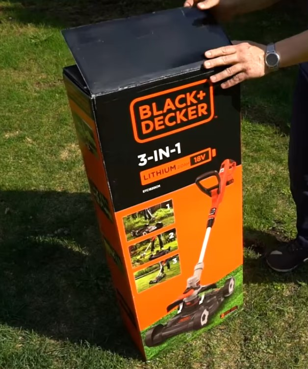 Коробка с триммером