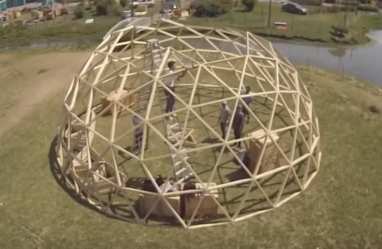купольный дом Domos Cordoba