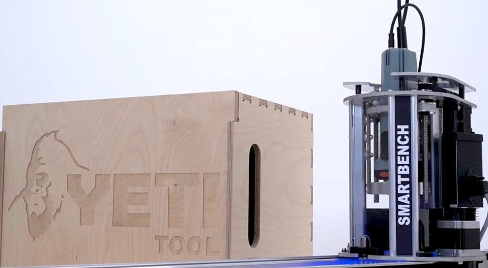 Фрезерный станок с ЧПУ Yeti Tool SmartBench