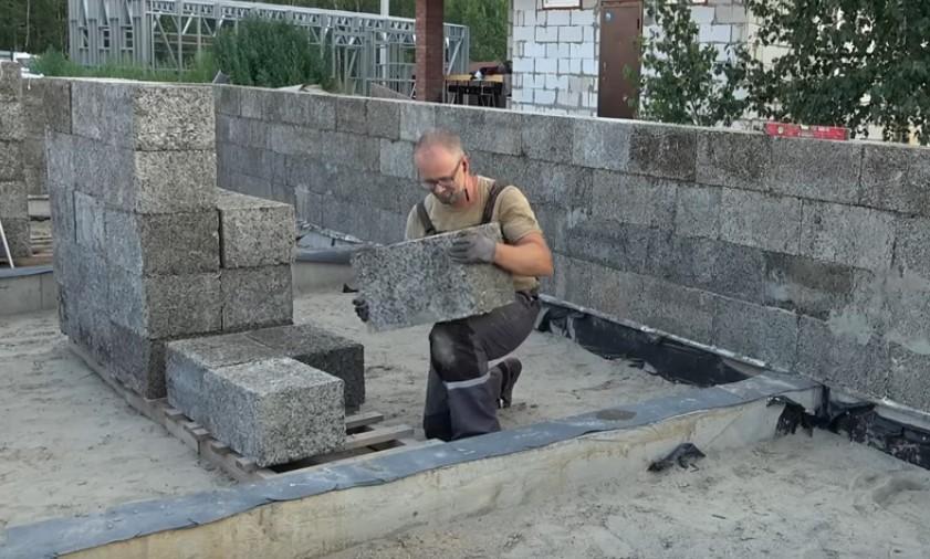 Кладем стены дома из арболитовых блоков своими руками. Делимся секретами строительства